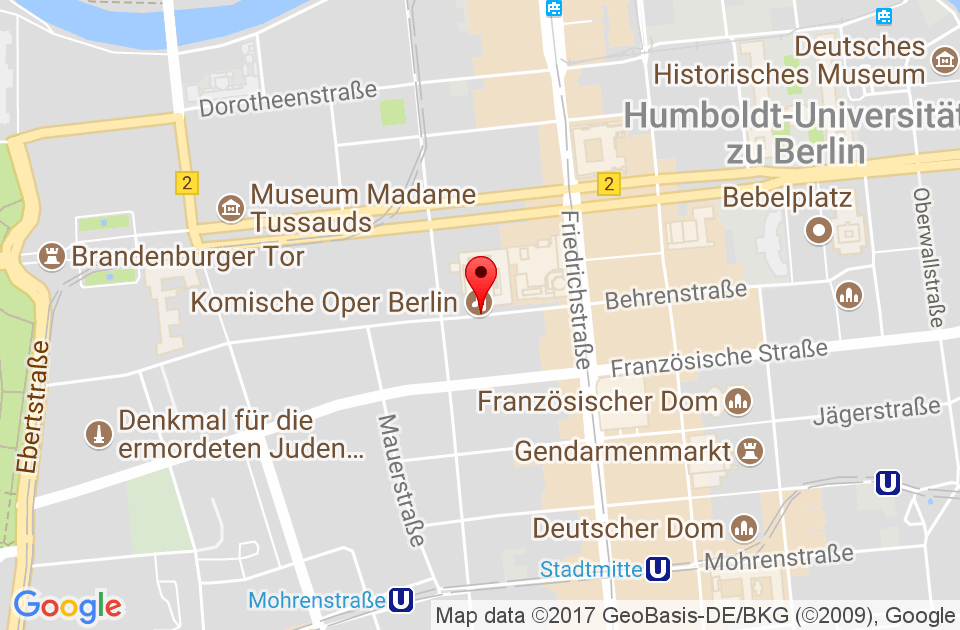 Google Map CBC Berlin